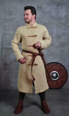 Clothing MEDIEVAL Camel Gambeson Reenactment Nice Costumes Best Very Movie Drama • 52.44£