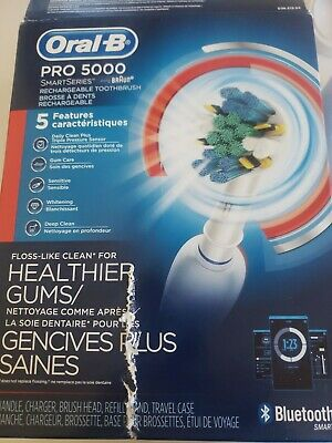 AU45.52 • Buy Oral-B Pro 5000 Smart Series Rechargeable Electric Toothbrush - Damaged Box