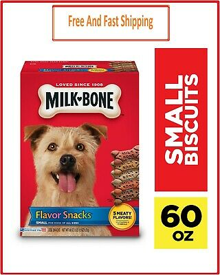 $28.50 • Buy Milk-Bone Flavor Snacks Dog Biscuits, Small, Treats For Dogs Of All Sizes, 60 Oz