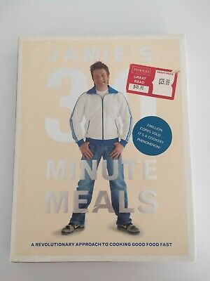 AU9 • Buy Jamie Oliver - Jamies 30 Minute Meals - Hardcover Book