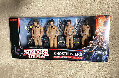 AU90 • Buy STRANGER THINGS - Ghostbusters 7  Deluxe Action Figure 4-Pack MISB