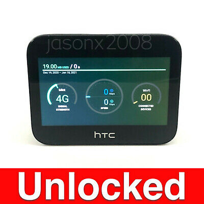 £188.32 • Buy Unlocked CAT20 Hotspot Router HTC 5G HUB 4G LTE Faster Speed CPE PRO Home Base