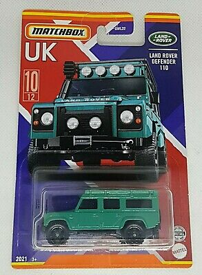 Matchbox 2021. Land Rover Defender 110. New Collectable Toy Model Car.  • 4.75£