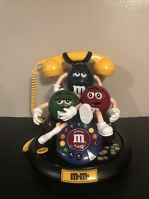 $48 • Buy M&M 's Candy Animated Talking Light-Up Telephone Phone