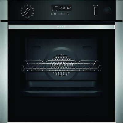 £928.99 • Buy Neff N50 Slide & Hide Electric Single Oven With Added Steam Function And Catalyt