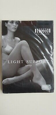 WOLFORD LIGHT SUPPORT SYNERGY TIGHTS 40 Den Size XL COCA Dark BROWN • 19.99£