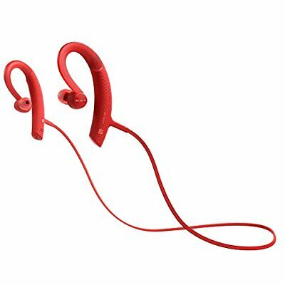 AU247.12 • Buy Sony MDR-XB80BS EXTRA BASS SPORT Bluetooth In-Ear Headphones Red