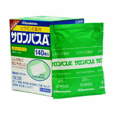 AU24.99 • Buy Hisamitsu SALONPAS Ae Pain Relieving Patches Packs Or Box Made In Japan+Tracking