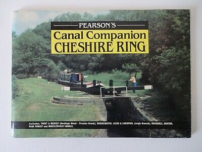 Cheshire Ring 1986 Canal Book • 4.99£