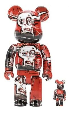 $200 • Buy Be@rbrick 400% 100% Jean Michell Basquiat Bearbrick Unopened *Free Shipping*
