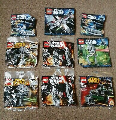 Lego Mini Star Wars Set X9 Bundle • 13.99£