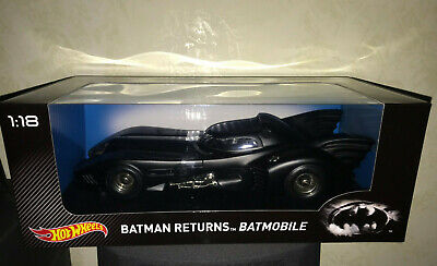 $ CDN602.70 • Buy ⭐️🎁BATMOBILE HOTWHEELS 1:18 BATMAN RETURNS NEW SEALED -NO ANIMATED Hot Toys⭐️