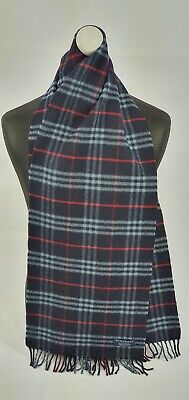Burberry Scarf 100% Lambswool For Men And Women Made In England  • 10.50£