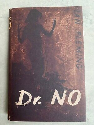 FINE FIRST EDITION 1958 Dr NO 1st/2nd With Dust Jacket Ian Fleming James Bond • 180£