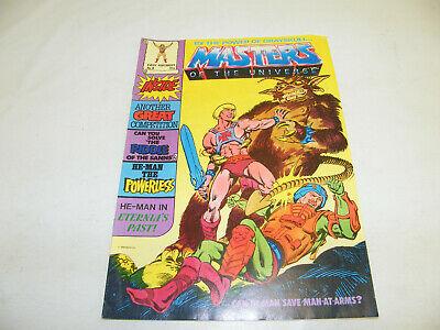 $24.15 • Buy MOTU Nr. 8 HE-MAN BY THE POWER OF 1986 UK COMIC MAGAZIN MASTERS OF THE UNIVERSE