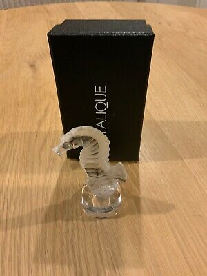 Lalique Clear Seahorse 1215500 Hippocampe Incolore Brand New In Box ! Gift Idea • 125£