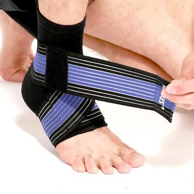 £3.90 • Buy Adjustable Ankle Support Strap Sleeve Sports Running Protect Weak Joint Injury+A