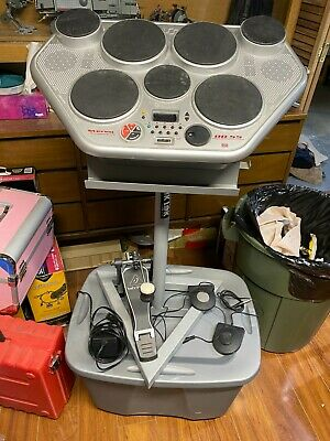 Yamaha DD-55 Digital Percussion 7-Pad MIDI Electronic Drums With Extras • 128.74£