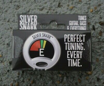 $ CDN27.76 • Buy NEW Silver Snark Guitar Clip-On Tuner SIL-1