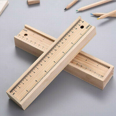 £4.98 • Buy Wooden Pencil Box Wooden Box Storage Stationery Child Pen Case Pull-out.