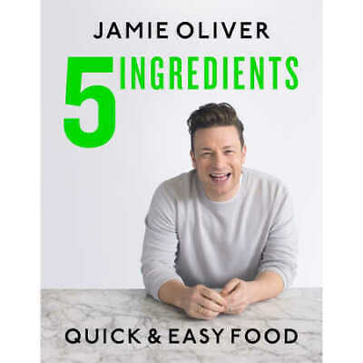 AU31.25 • Buy 5 INGREDIENTS By Jamie Oliver BRAND NEW On Hand IN AUS!