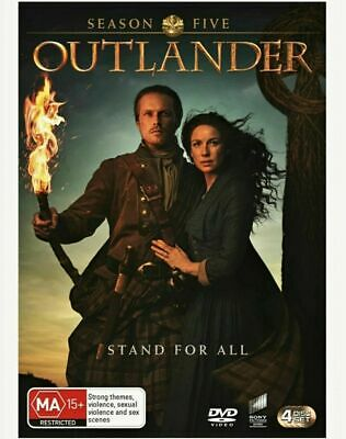 AU23.25 • Buy OUTLANDER Complete Season 5 DVD BRAND NEW & SEALED In Aus!