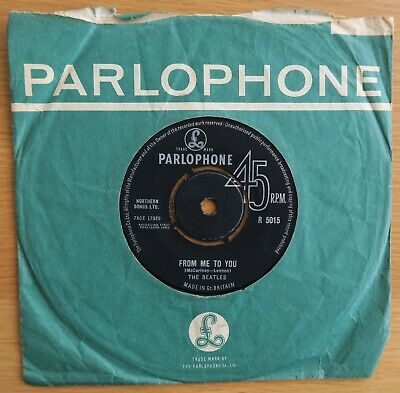 £25 • Buy THE BEATLES FROM ME TO YOU / THANK YOU GIRL – 1st PRESSING – EX