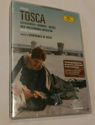 £10.99 • Buy Tosca Giacomo Puccini 1976 DVD 2005 New Sealed Region 0