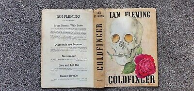 Goldfinger 1st Usa  Edition 1959 Ian Fleming 1st Print • 199.99£
