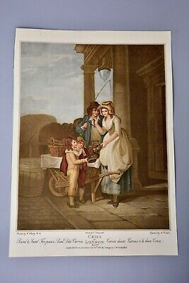 £10.99 • Buy Antique Clipping/Print: Cries Of London Plate 8 Cherry/Fruit Seller