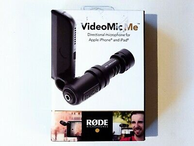 Rode VideoMic Me Directional Microphone With Rode Windshield For Smartphones • 36.95£