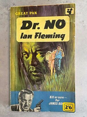 Rare DR NO Ian Fleming 1961 VG 1st Edit/4th Print Pan DIRECTOR SERIES James Bond • 10£