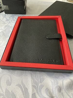 £15.99 • Buy Liverpool FC Black Real Leather Note Book Case With Credit Card Holder