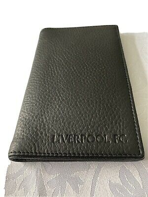 £13.99 • Buy Liverpool FC Black Real Leather Credit Card Holder