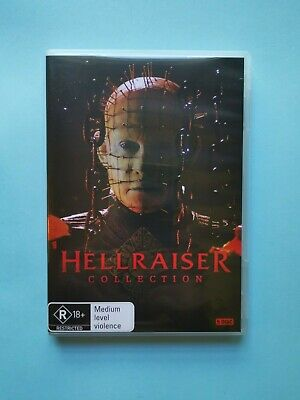 Hellraiser - Collection 🎬 DVD Region 4 PAL 🎬 • 6.16£