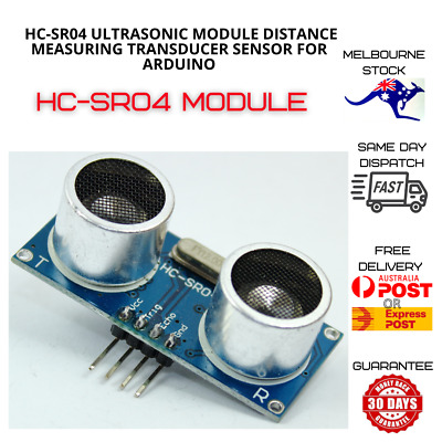 AU5.37 • Buy HC-SR04 Ultrasonic Module Distance Measuring Transducer Sensor For Arduino