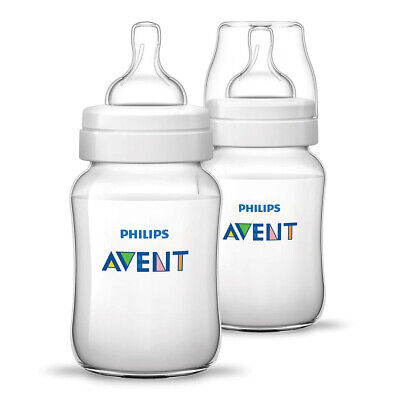 AU9.95 • Buy Philips Avent Anti-Colic Baby Bottles 2x 260ml Pack