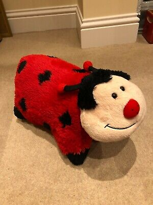 Convertible Ladybird Pillow Pet To Cuddly Soft Toy / Teddy Pillow 46 X 33cm • 1.50£
