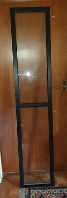 Ikea Oxberg Black-brown Door To Fit BILLY Bookcase, Fully Glazed • 15£