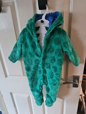 Blue Zoo Baby Boy Dinosaur All In One 9-12 Months • 4.75£