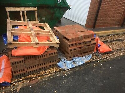 Facing Bricks, Ibstock Manorial Mix Red Multi X 500 • 0.50£