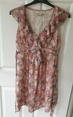 AU2.71 • Buy Top Shop Maternity Pink Floral Dress Size 10