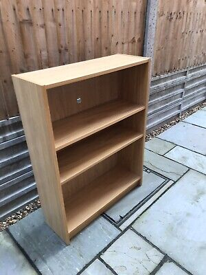 Billy Bookcase Beech Veneer From Ikea Great Size For Home Office Or Study Used • 6£