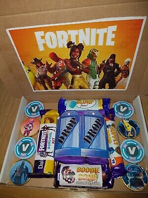 £10 • Buy Fortnite Birthday Chocolate Letterbox Gift  -17 Pieces