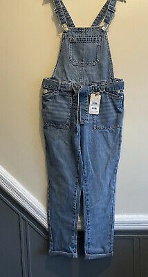 BNWT Girls NEXT Denim Dungarees Age 10 Great For All Season Wear  • 2.53£