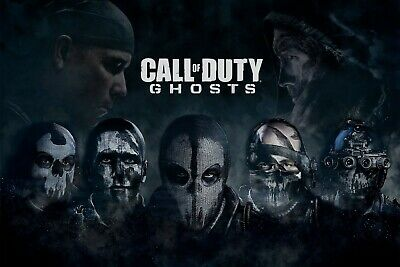 £16.99 • Buy Call Of Duty Ghosts Wall Art Canvas UK Seller Free Post Limited Stock