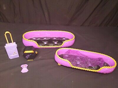 £11.25 • Buy Monster High Doll Room Howl Bunk Bed Clawdeen Dead Tired Purple Bedroom Furnitur