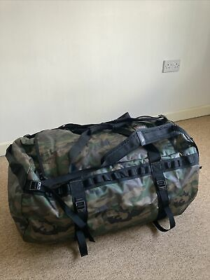 North Face Base Camp XL 155 Litre Extra Large Duffel Bag Campflage • 88£
