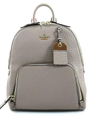 $ CDN174.19 • Buy New Kate Spade New York Caden Carter Leather Backpack Soft Taupe