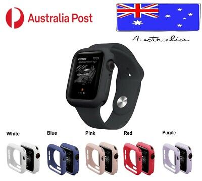 AU6.95 • Buy For Apple Watch IWatch Series 6 5 4 3 2 1 Silicone Case Soft Cover 38 40 42 44mm
